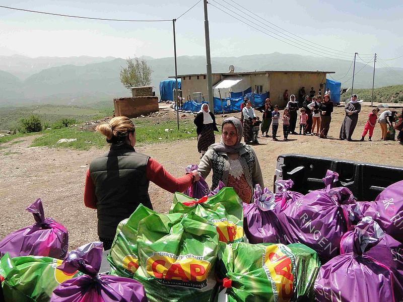 Hoffnungsnetz: Irak / Syrie